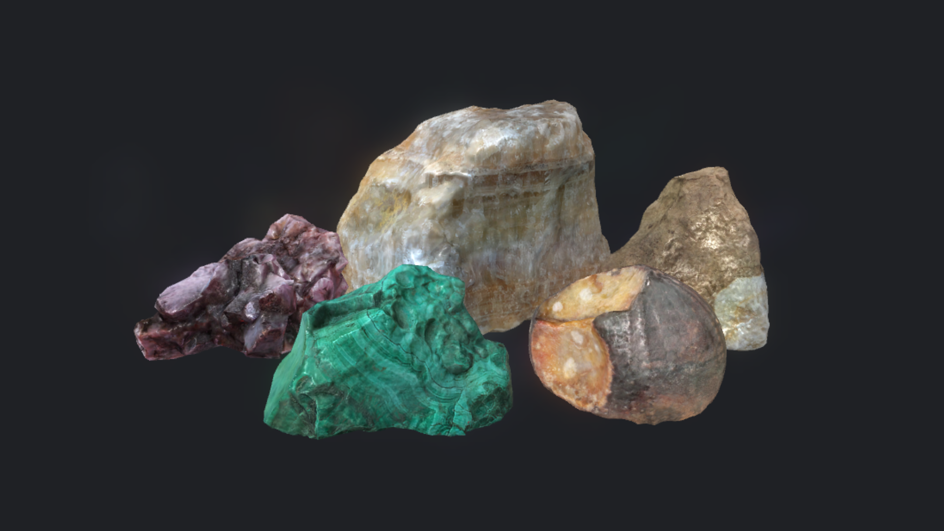 5 Unique Mountain Stones