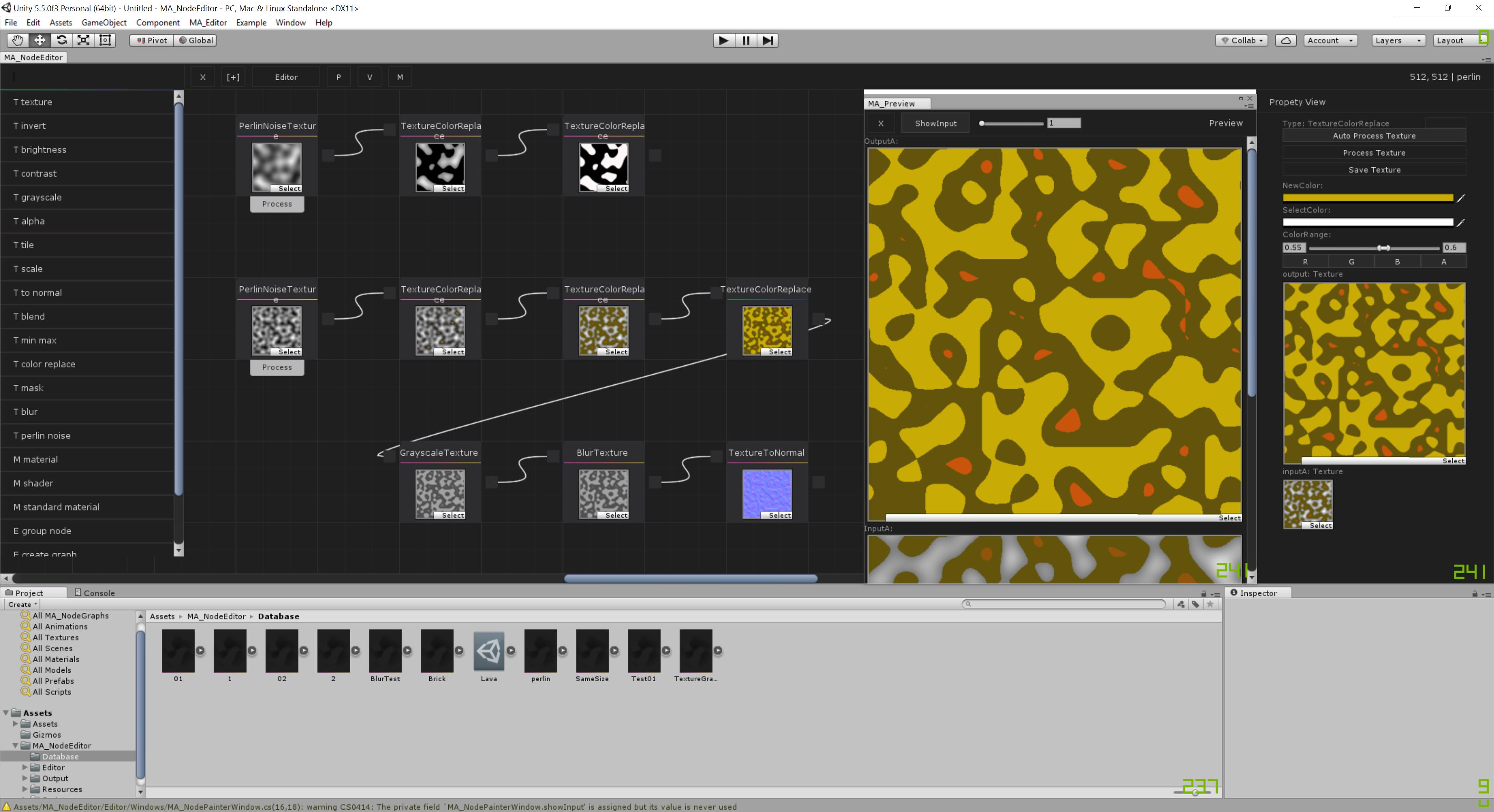 MA_NodeEditor Unity Editor Extension, Image Editor