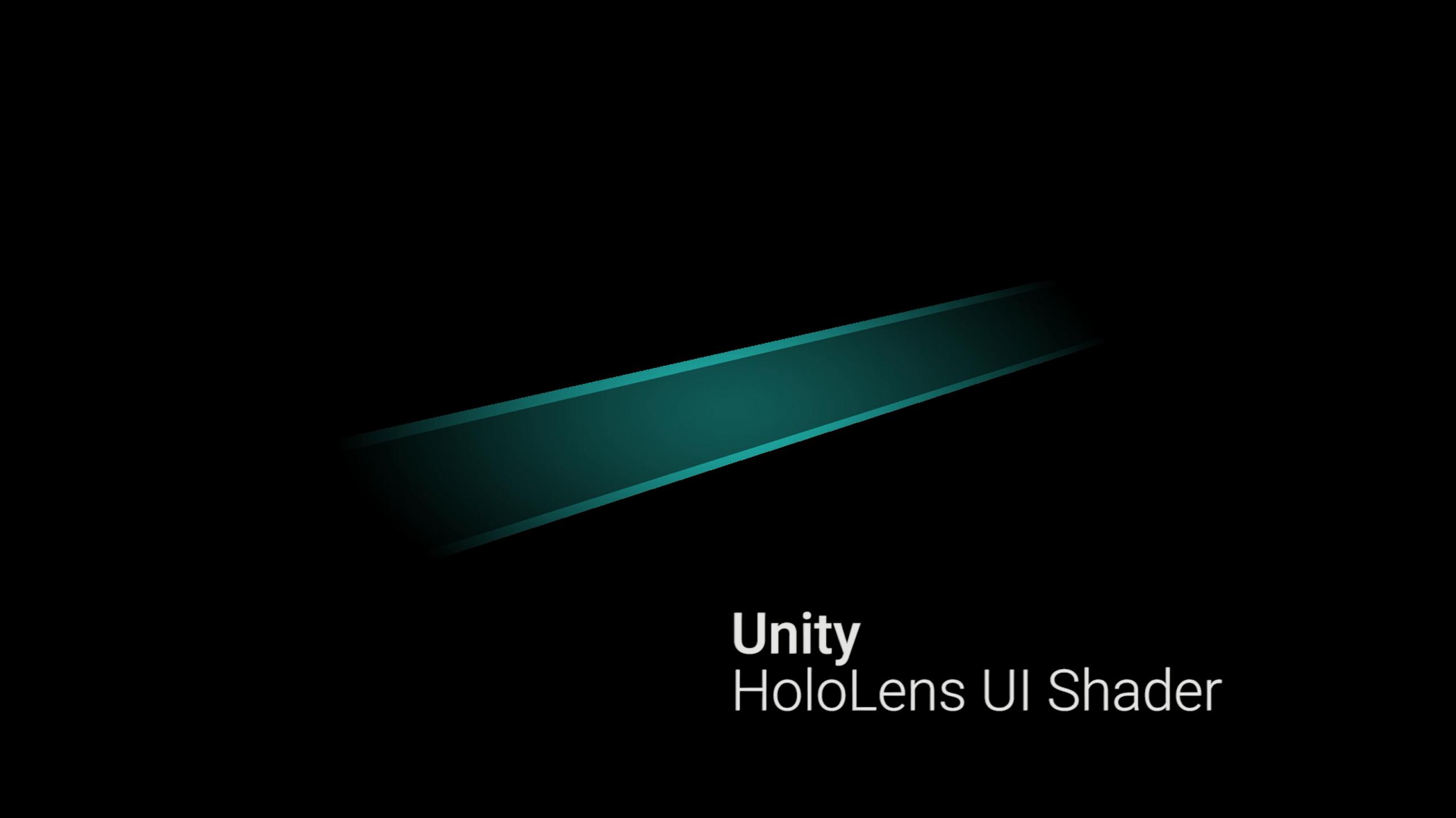 MSUI - Unity HoloLens UI Shader